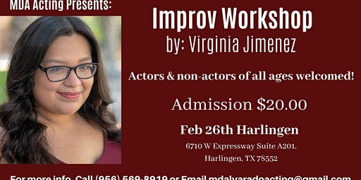 Improv Workshop by Virginia Jimenez
