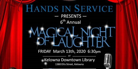 6th Annual Magical Night of Laughter tickets