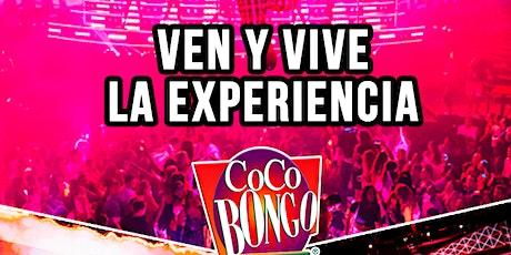 Invitados Coco Bongo  boletos