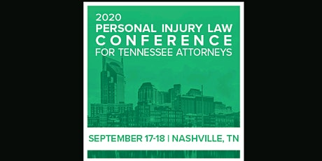 Tennessee Personal Injury Law Conference (ahm)  S tickets