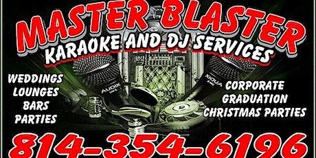 LIVE MUSIC-Master Blaster 6:30-9:30 PM tickets