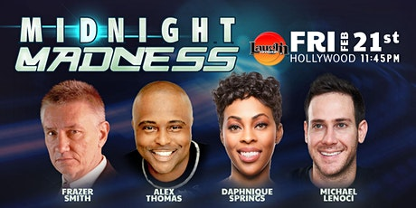 Daphnique Springs, Alex Thomas, Michael Lenoci - Midnight Madness tickets