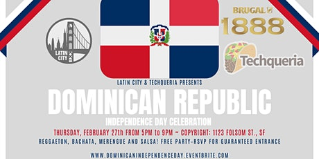 Dominican Republic's Independence Day by Brugal Rum tickets