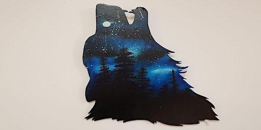 WannaBee Creations ~ Majestic Wolf Head
