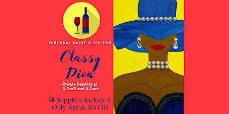 Birthday Paint & Sip tickets