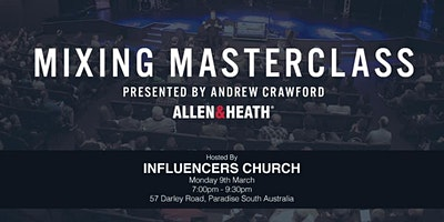 Mixing Masterclass with Andrew Crawford