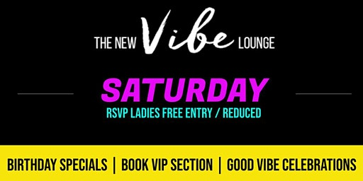 I LOVE SATURDAYS ft. DJ MADOUT @ The New Vibe Lounge