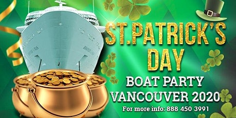 Saint Patrick's Day Boat Party Vancouver 2020 tickets