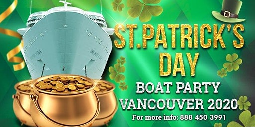 Saint Patrick's Day Boat Party Vancouver 2020