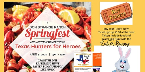 Spring Festival & Crawfish Boil at The Historic Don Strange Ranch