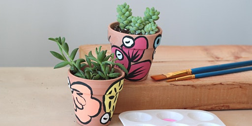 Sunday Hangs with Maj : Paint + Plant