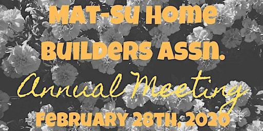 Mat-Su Home Builders Annual Meeting