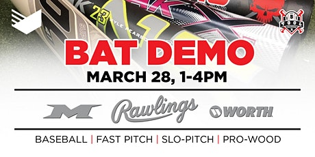 Rawlings Bat Demo - Presented by United Sport & Cycle & 5 Tool Fieldhouse tickets