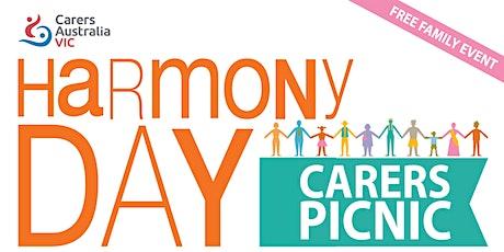 Carers Victoria Harmony Day Picnic tickets