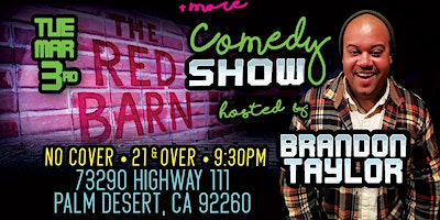 Red Barn Comedy Night: Mike Bentley Tue Mar 3rd