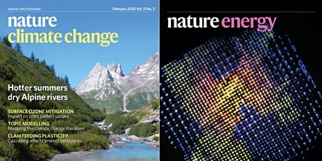 Publishing in Nature Climate Change & Nature Energy tickets
