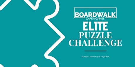 Boardwalk Elite Puzzle Challenge tickets