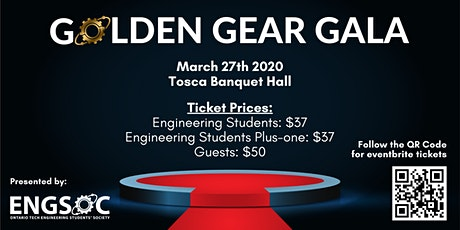 Ontario Tech Engineering Golden Gear Gala tickets