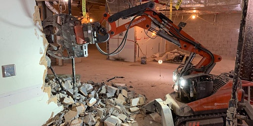 YRCO Husqvarna Demolition By Robot Open Day - Wellington