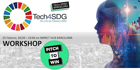 #Tech4SDG  Workshop: Pitch to WIN entradas