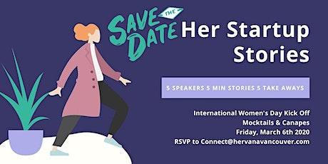 International  Women's Day - Her Startup Stories tickets