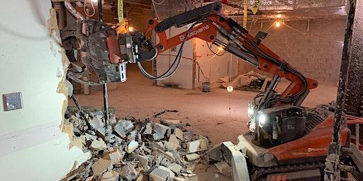 YRCO Husqvarna Demolition By Robot Open Day - Christchurch