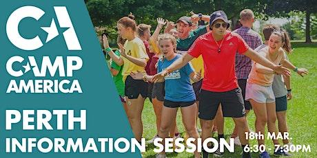 Perth - Camp America Info Session tickets