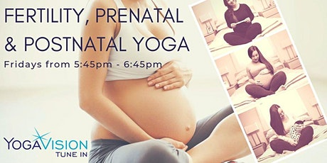 Fertility, Prenatal and Postnatal Yoga Meet-Up tickets