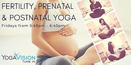 Fertility, Prenatal and Postnatal Yoga Meet-Up tickets