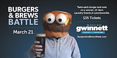 Burgers & Brews Battle tickets