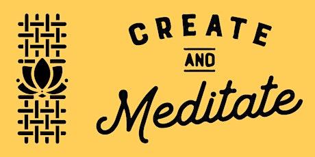 Create & Meditate Workshop tickets