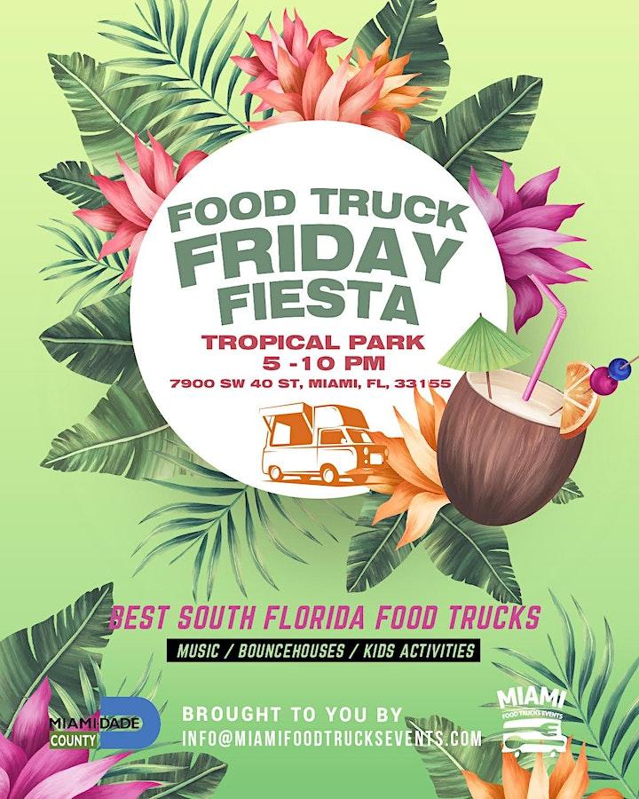 Food Trucks Fridays Fiesta Tropical Park image