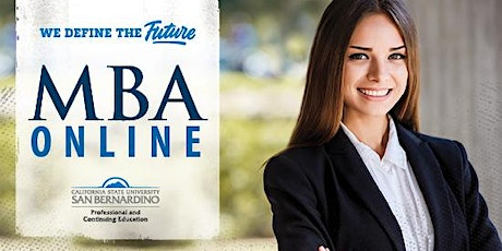 MBA Online (In-Person) Information Session tickets