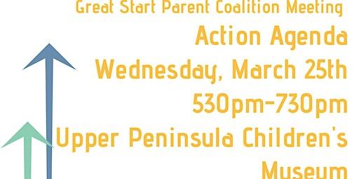Action Agenda Great Start Parent Coaltion