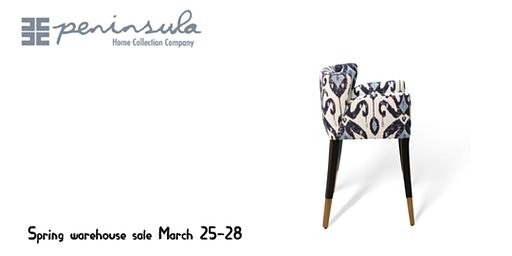 Peninsula Home Spring warehouse sale