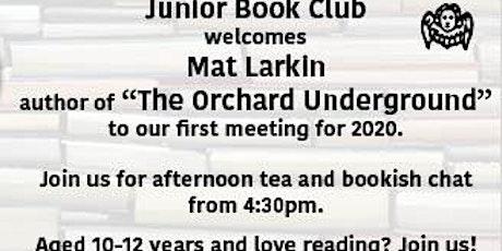 Junior Book Club with Mat Larkin tickets