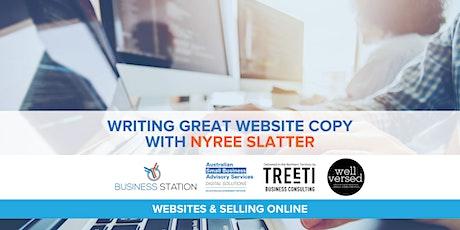 Writing Great Website Copy with Nyree Slatter [Darwin] tickets