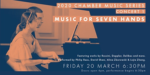 Chamber Music Series Concert 1 - Music for Seven Hands