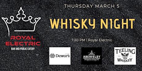 Whisky Night tickets