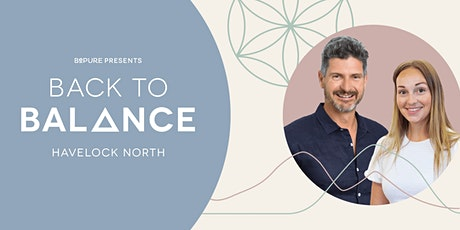 (Postponed) Back to Balance – Havelock North tickets