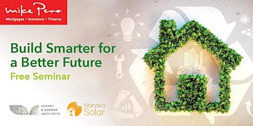 Build Smarter for a Better Future Seminar