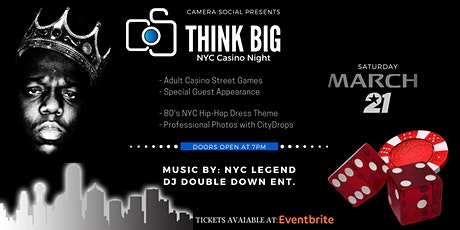 Think BIG — NYC Casino Night tickets