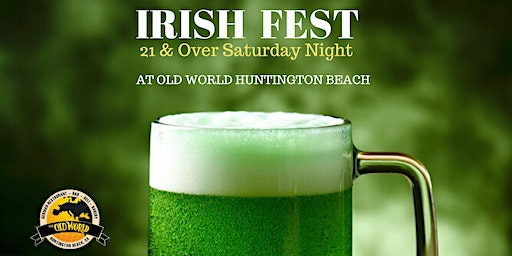 Old World Presents Irish Fest After Dark