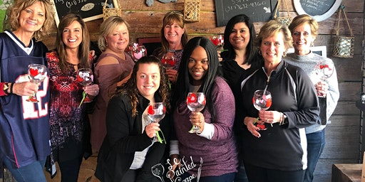 Wine Glass Painting Party Workshop at Peace Water Winery 6/7 @ 130pm