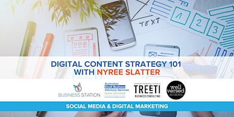 Digital Content Strategy 101 with Nyree Slatter [Darwin] tickets