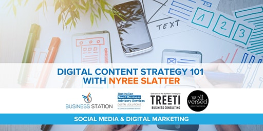 Digital Content Strategy 101 with Nyree Slatter [Darwin]