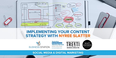 Implementing Your Content Strategy with Nyree Slatter [Darwin] tickets