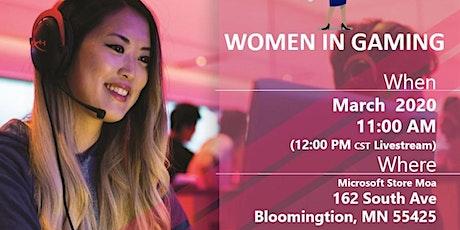 International Women's Day: Women in Gaming tickets