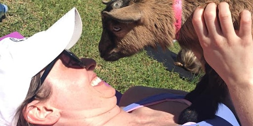 Leap Day Baby Goat Yoga 2020