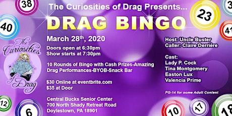 The Curiosities of Drag Presents: Drag Bingo tickets